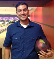 2014 Tournament of Champions: New season league bowling ball winner: Sergio Ramirez