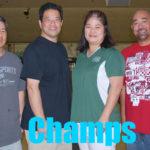 2015 Roll-Off Champs (Dwayne Kumura, Dave Yamauchi, Leanna Harada, Kurt Arakaki)